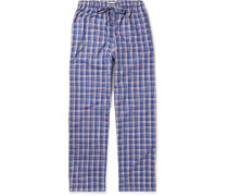 Barker Checked Cotton Pyjama Trousers