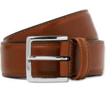 Tan 3.5cm Leather Belt