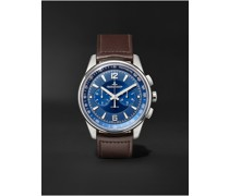 Polaris Automatic Chronograph 42mm Stainless Steel and Leather Watch, Ref. No. 9028480
