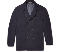 Wool And Cashmere-blend Peacoat