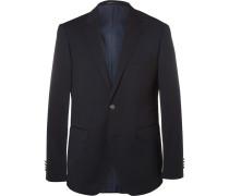 Blue Jeremy Virgin Wool-piqué Blazer