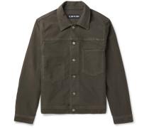 Cotton-Moleskin Trucker Jacket