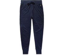 Slim-fit Tapered Cotton-jersey Sweatpants