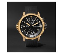 Aquatimer Expedition Charles Darwin Automatic Chronograph 44mm Bronze and Rubber Watch, Ref. No. IW379503