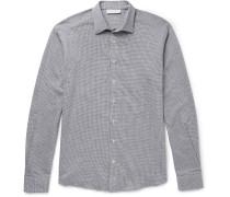 Houndstooth Cotton Shirt