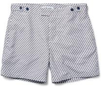 Leme Slim-fit Mid-length Printed Swim Shorts