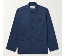 Hockney Slub-Cotton Shirt Jacket