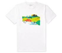 + Jeremie Fischer Niels Slim-Fit Printed Cotton-Jersey T-Shirt