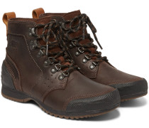 Ankeny Waterproof Leather And Rubber Boots