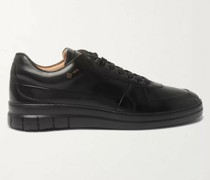 Duke Polished-Leather Sneakers