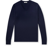Igor Silk and Cotton-Blend Sweater