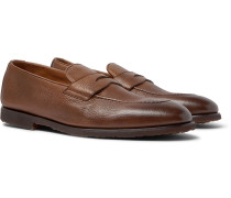 Full-Grain Leather Penny Loafers