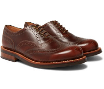 Dominic Burnished-leather Wingtip Brogues