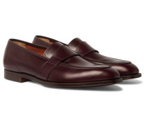 Owen Leather Penny Loafers