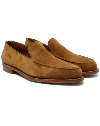 Islington Suede Loafers - Tan