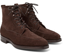 Nevis Shearling-lined Suede Boots