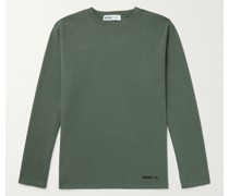 Logo-Print Stretch Cotton-Jersey T-Shirt
