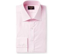 Slim-Fit Striped Cotton Oxford Shirt