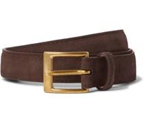 2.5cm Suede Belt