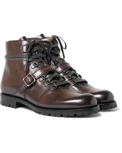Berluti Herren Brunico Leather Boots Günstig Versandkosten Um Online-Verkauf Billig Verkauf Mit Paypal 7SV6Yn9