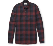 Clerkenwell Checked Cotton-poplin Shirt