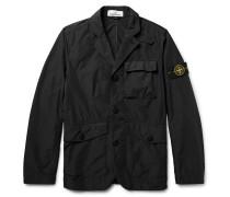 David Tela Slim-fit Garment-dyed Shell Jacket