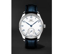 Portugieser Automatic 40.4mm Stainless Steel and Alligator Watch, Ref. No. IW358304