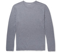 Long-sleeved Stretch Micro Modal Jersey T-shirt