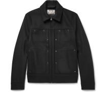 Metal Wool-blend Jacket