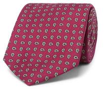 + Drake's 8cm Paisley Silk-jacquard Tie