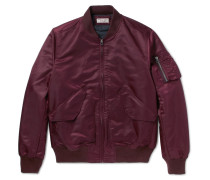 Wallace & Barnes Satin-shell Bomber Jacket