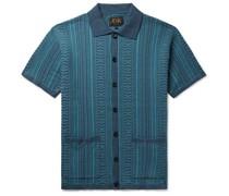 Cotton-Jacquard Shirt