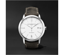 Classima Automatic 42mm Stainless Steel And Leather Watch