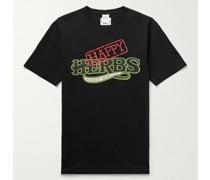 + Cheech & Chong Nice Dreams Printed Cotton-Jersey T-Shirt