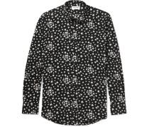 Star-print Voile Shirt