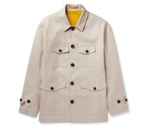 Coated-Cotton Jacket