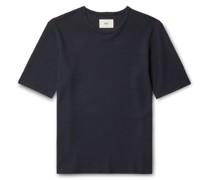 Assembly Waffle-Knit Organic Cotton T-Shirt