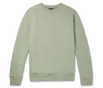 Organic Loopback Cotton-jersey Sweatshirt
