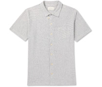 Striped Cotton-jersey Shirt