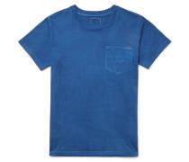Overdyed Cotton-jersey T-shirt