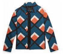 Quilted Printed Cotton Jacket