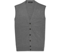 Wool And Cashmere-blend Vest