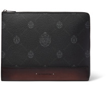 Signature Canvas and Leather Pouch