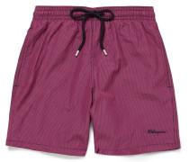 Moorea Mid-length Gingham Swim Shorts