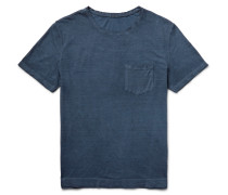 Panarea Garment-dyed Cotton-jersey T-shirt