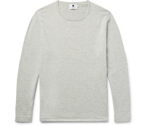 Tom Loopback Cotton And Wool-blend Jersey Sweater
