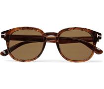 Frank Tortoiseshell Acetate D-frame Sunglasses