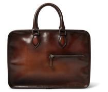 Un Jour Polished-leather Briefcase