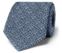 8cm Mélange Silk-blend Tie