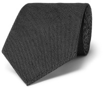8cm Cotton And Silk-blend Tie